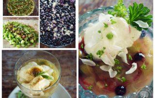 Erilaisia kuusenkerkkä-ruokia